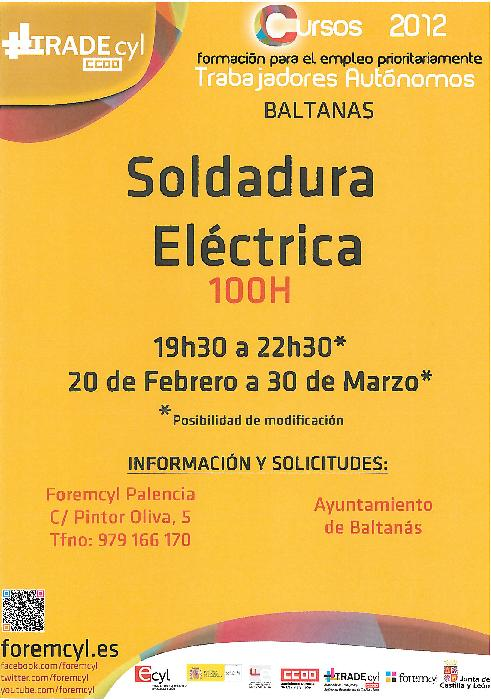 Curso Soldadura Eléctrica