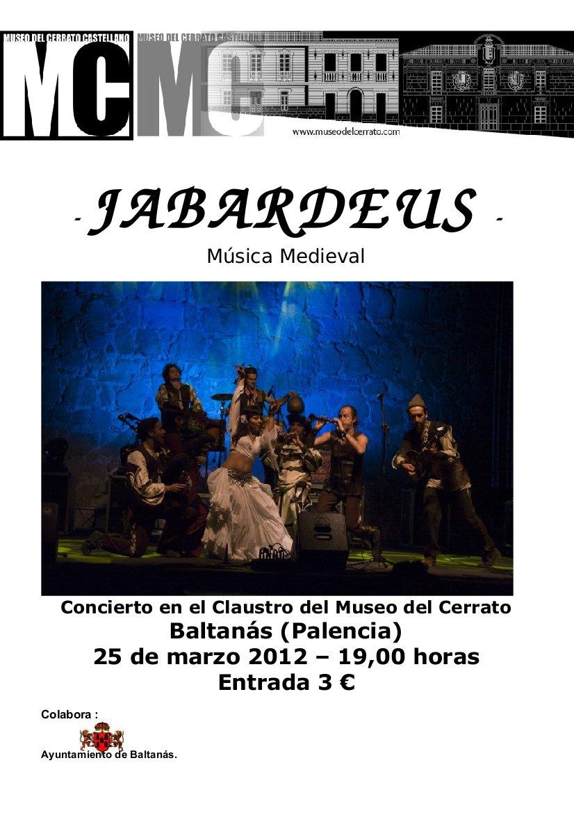 Concierto en el Museo del Cerrato -25/3/12 -Jabardeus-
