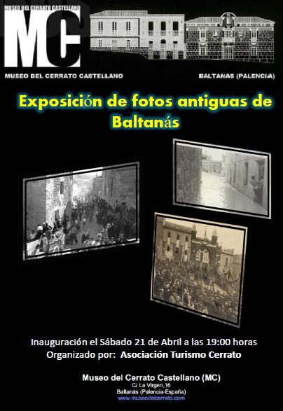 Exposición fotografías antiguas de Baltanás