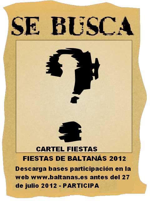 Se busca cartel de Fiestas 2012