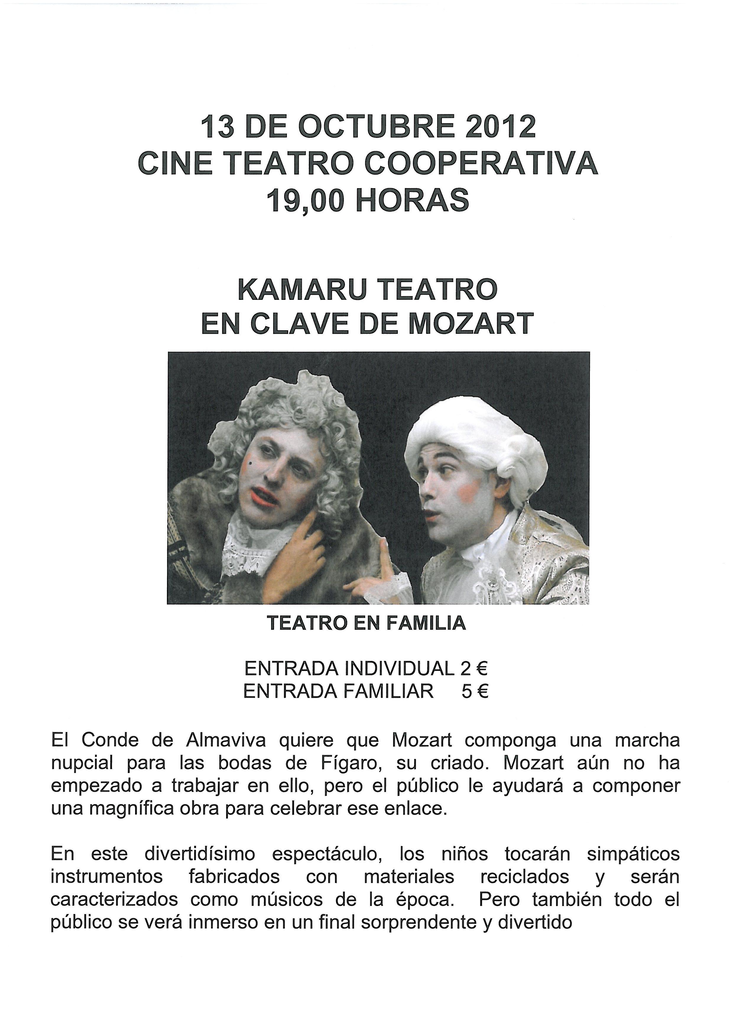 Teatro en Baltanás