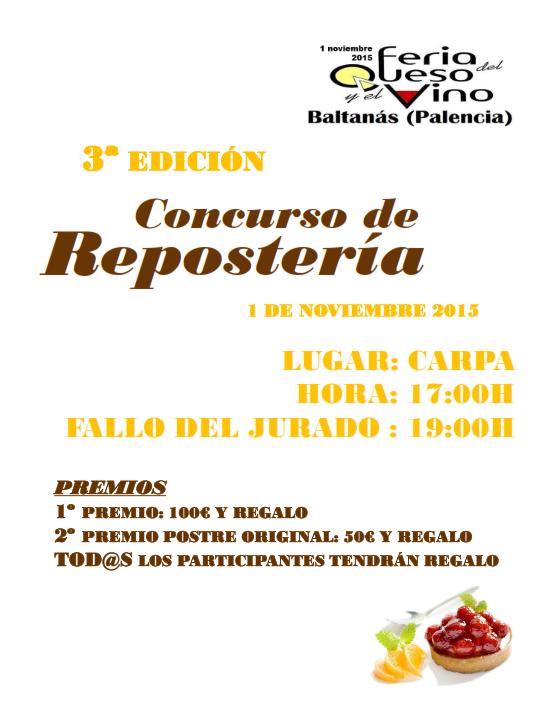 CARTEL CONCURSO REPOSTERÍA 2015