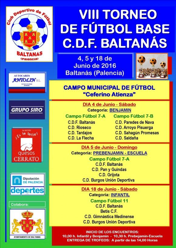 Cartelel Torneo 2016 a3
