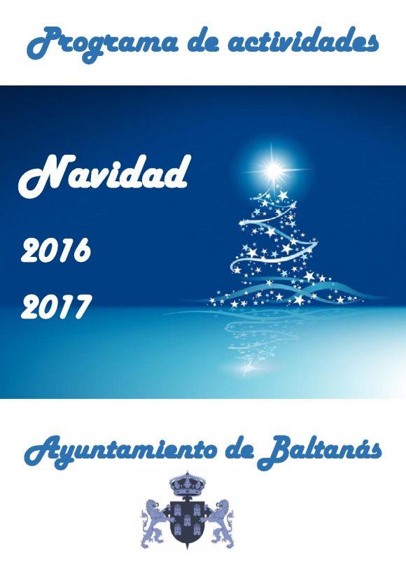 PROGRAMACION NAVIDEÑA 2016-17