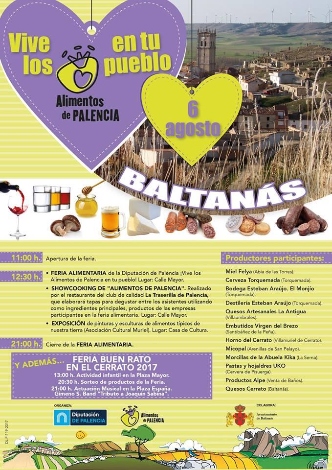 VII Edición Feria Agroalimentaria «Buen Rato en el Cerrato»