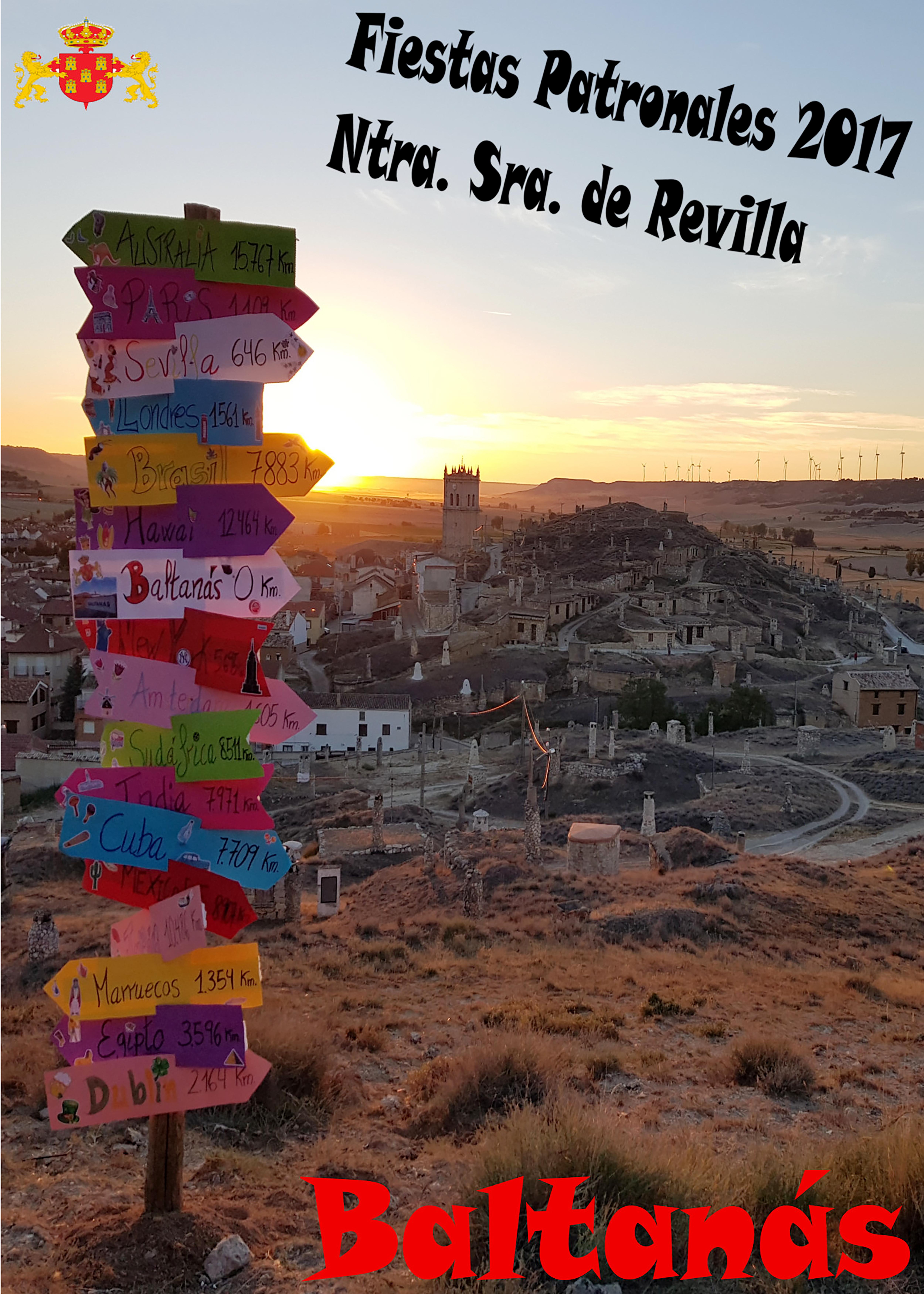 Programa Fiestas Ntra. Sra. de Revilla 2017