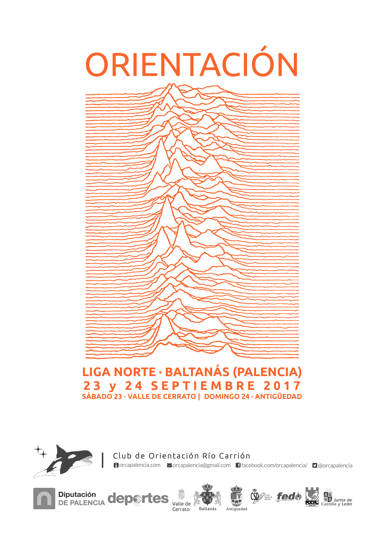 ORIENTACIÓN LIGA NORTE BALTANÁS 2017