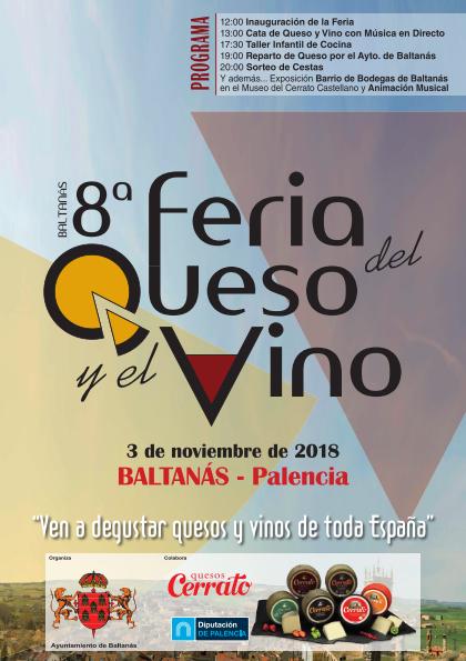 8º FERIA DEL QUESO Y EL VINO 3 de Noviembre de 2018