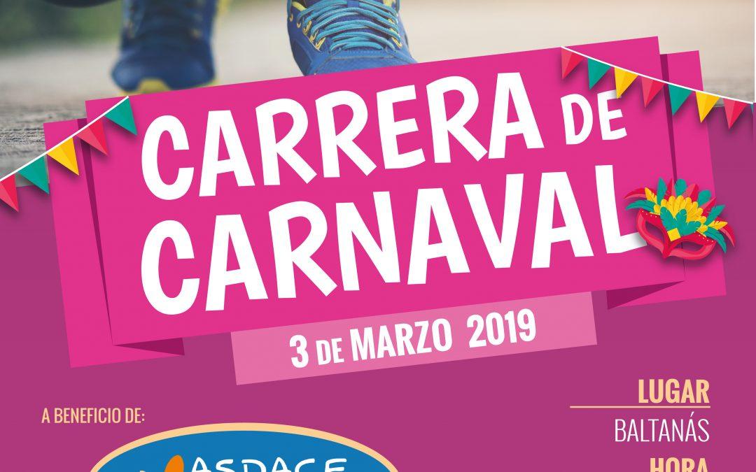 II Carrera Benéfica de Carnaval Caixabank Baltanás