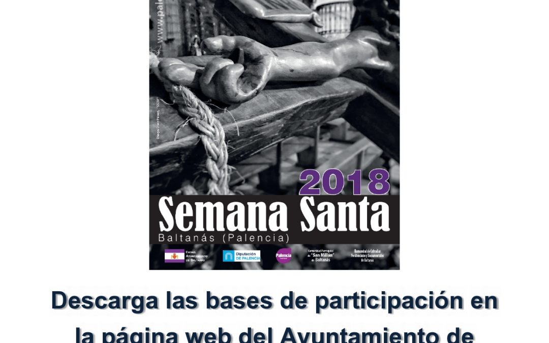 BASES DEL V CONCURSO DE CARTEL PARA LA SEMANA SANTA BALTANASIEGA 2019