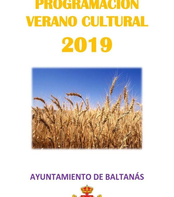 PROGRAMACIÓN VERANO CULTURAL 2019