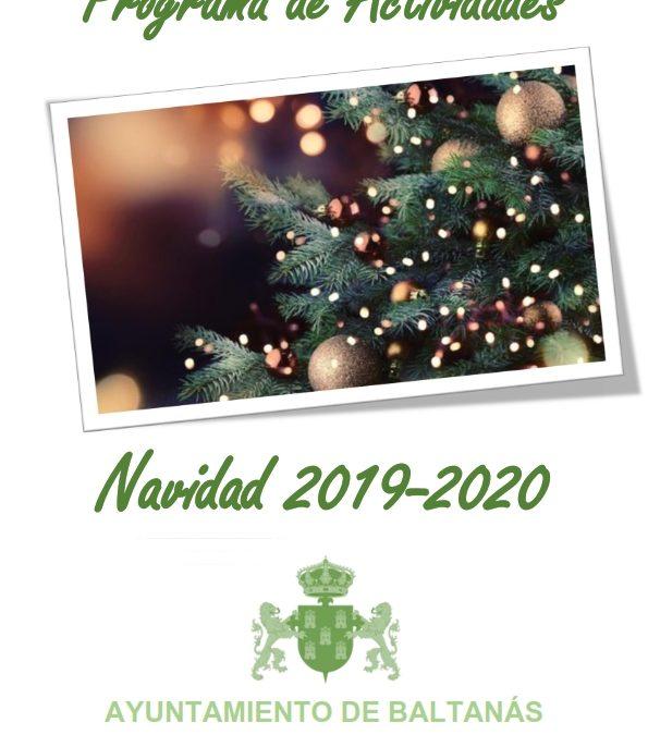 PROGRAMA DE ACTIVIDADES NAVIDAD 2019-2020