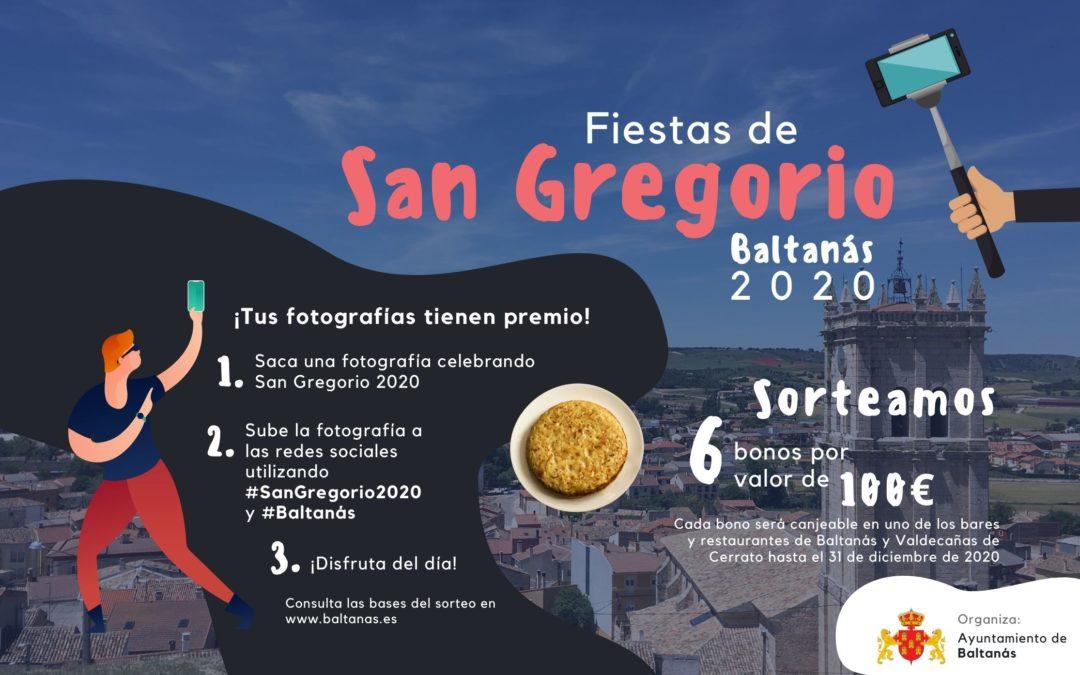 """¿Cómo celebras San Gregorio 2020? BASES DEL SORTEO """"SAN GREGORIO 2020"""" EN BALTANÁS"""