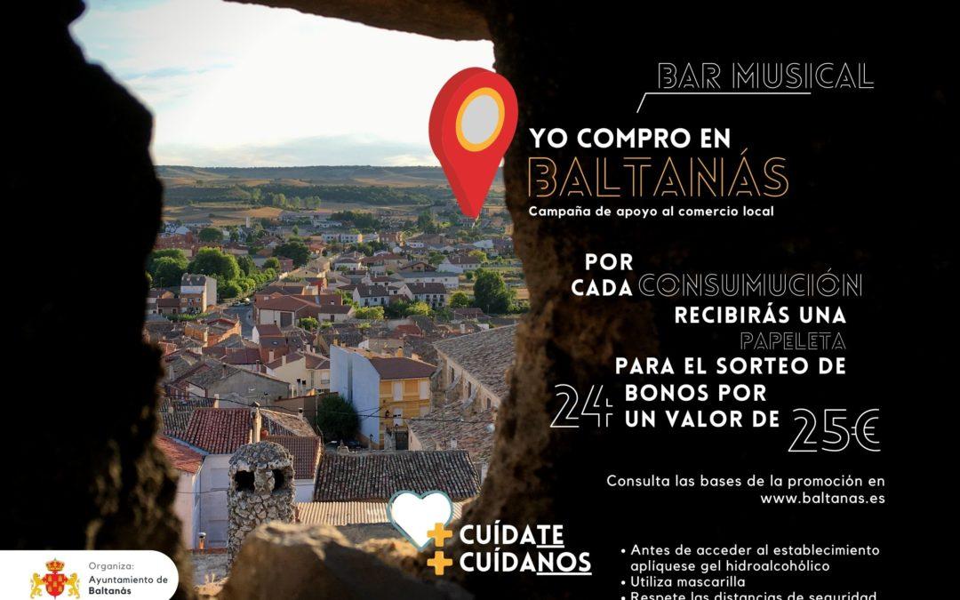 CAMPAÑA DE APOYO AL COMERCIO Y HOSTELERIA LOCAL – YO COMPRO EN BALTANÁS