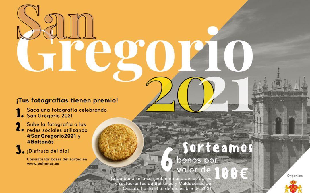 """¿Cómo celebras San Gregorio 2021? BASES DEL SORTEO """"SAN GREGORIO 2021"""" EN BALTANÁS"""