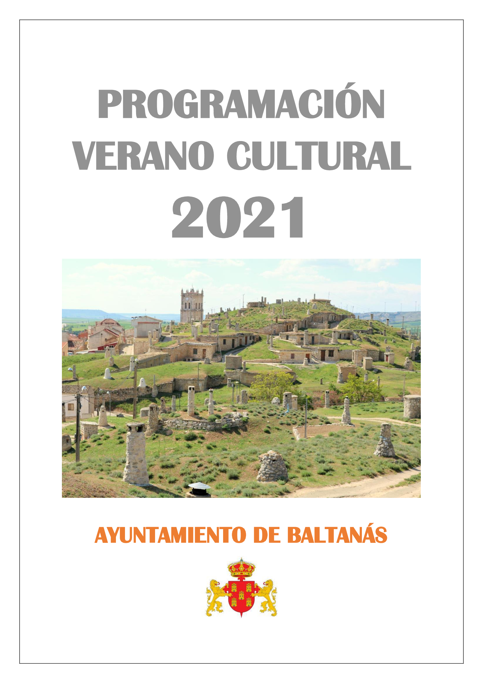 PROGRAMACIÓN VERANO CULTURAL 2021